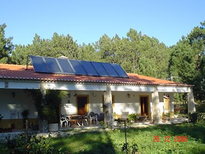 Solar Panels at work ! Solar Panels are one part of the Solar System for your home.